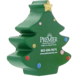 Christmas Tree Stress Ball for Customization