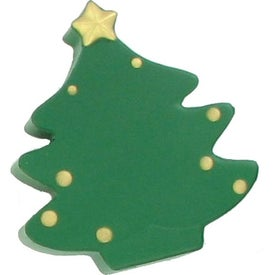 Branded Christmas Tree Stress Ball