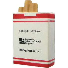Cigarette Box Stress Ball for your School