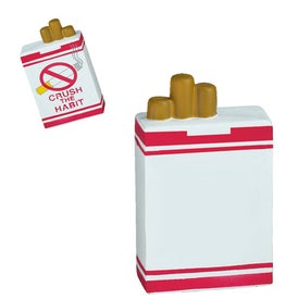 Cigarette Box Stress Ball from Quality Logo Products