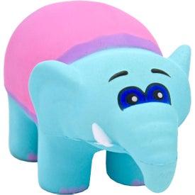 Logo Circus Elephant Stress Toy