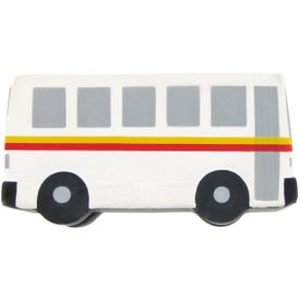 Personalized City Bus Stress Toy