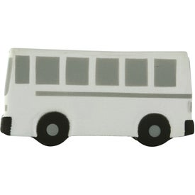 Printed City Bus Stress Toy