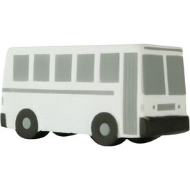 Custom City Bus Stress Toy
