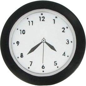 Monogrammed Clock Stress Ball