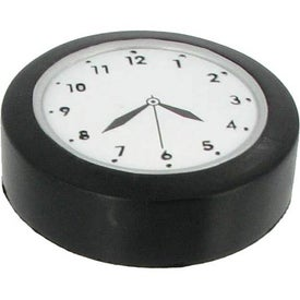 Clock Stress Ball with Your Logo