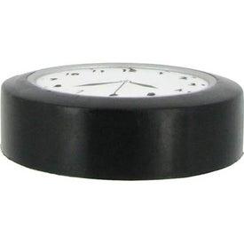 Advertising Clock Stress Ball