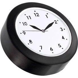 Clock Stress Ball for Advertising