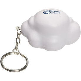 Cloud Key Chain Stress Ball