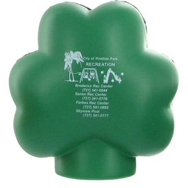 Clover Stress Ball Branded with Your Logo