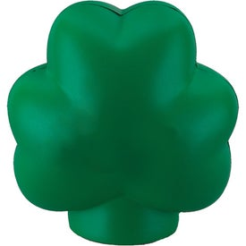Clover Stress Ball with Your Slogan