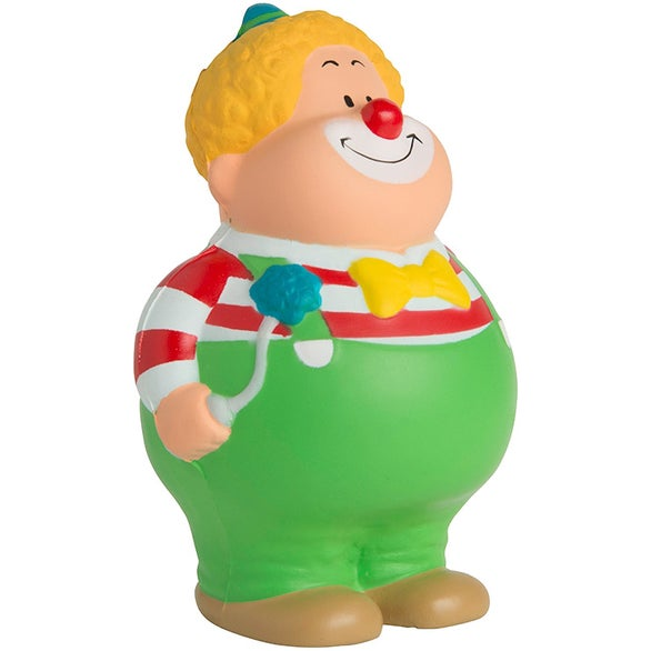 See Item Clown Bert Stress Reliever