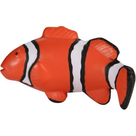 Clown Fish Stress Toy with Your Logo