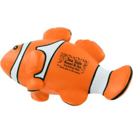 Advertising Clown Fish Stress Ball