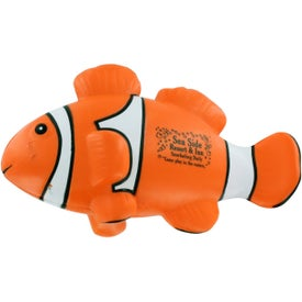 Clown Fish Stress Ball for Your Company