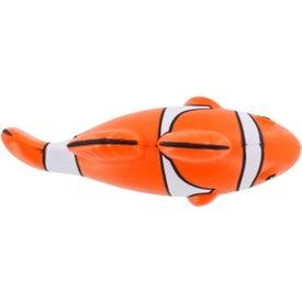 Monogrammed Clown Fish Stress Ball