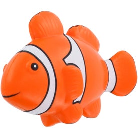 Branded Clown Fish Stress Ball