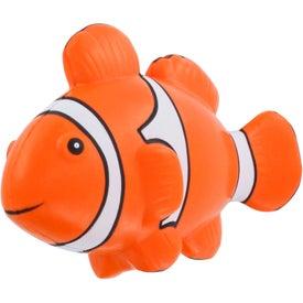 Branded Clown Fish Stress Ball