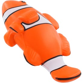 Customized Clown Fish Stress Ball