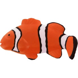 Personalized Clownfish Stress Reliever