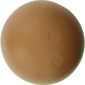 Custom Coconut Shaped Stress Ball