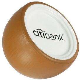 Coconut Shaped Stress Ball