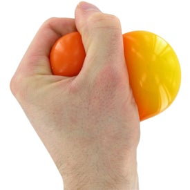 Printed Color Changing Gel Stress Ball