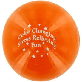 Color Changing Gel Stress Ball for Your Organization