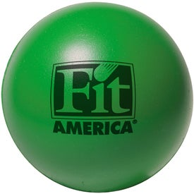 Imprinted Colorbrite Round Stress Ball