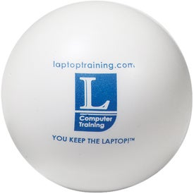 Colorbrite Round Stress Ball Imprinted with Your Logo