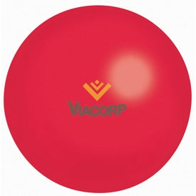 Colored Stress Ball with Your Slogan