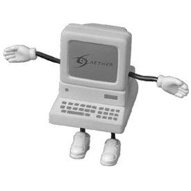 Promotional Computer Figure Stress Ball