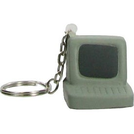 Computer Key Chain Stress Ball