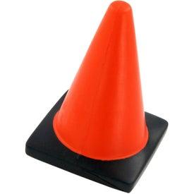 Company Construction Cone Stress Ball