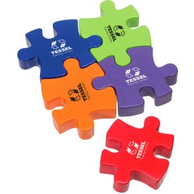 Connecting Puzzle Piece Stress Ball