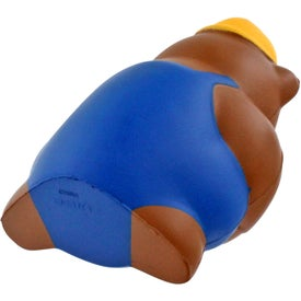 Construction Bear Stress Ball for Your Company