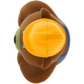 Promotional Construction Bear Stress Ball