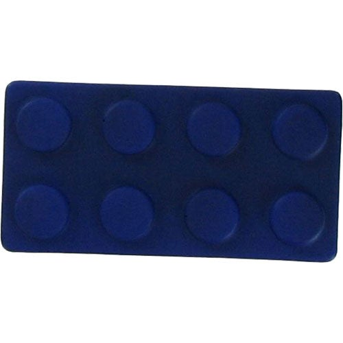 Blue Construction Block Stress Relievers