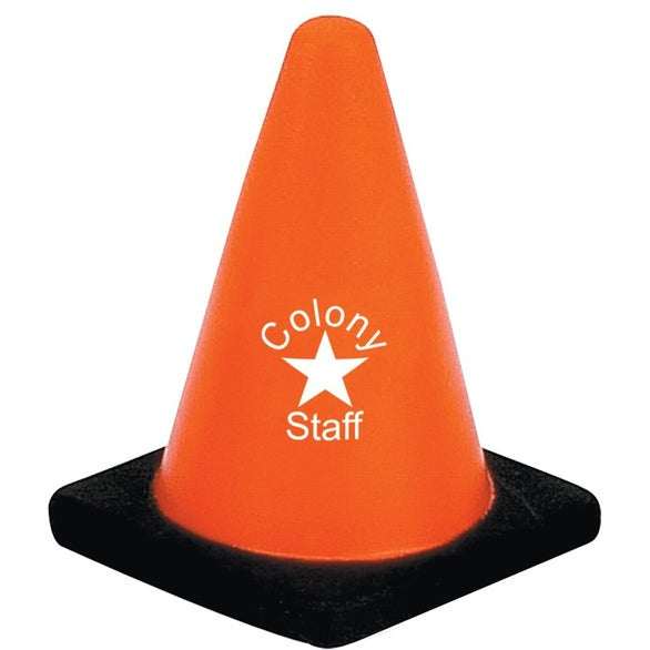 Construction Cone Stress Ball