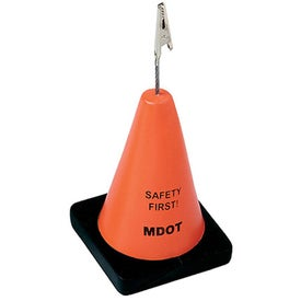 Construction Cone Stress Reliever Memo Holders