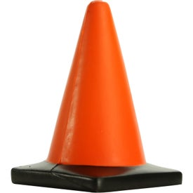 Printed Construction Cone Stress Toy