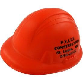 Personalized Hard Hat Stress Ball