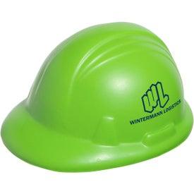 Printed Hard Hat Stress Ball