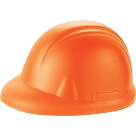 Personalized Construction Hat Stress Reliever
