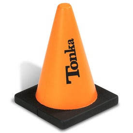 Construction Cone Stress Squeeze
