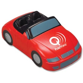 Imprinted Convertible Car Stress Reliever