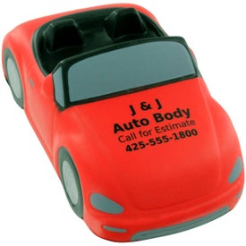 Custom Convertible Car Stress Ball