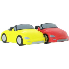 Branded Convertible Car Stress Ball