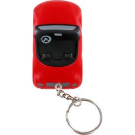 Convertible Car Key Chain Stress Ball for Customization
