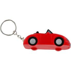 Advertising Convertible Car Key Chain Stress Ball